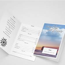 funeral program wording exle of funeral program wording funeral programs