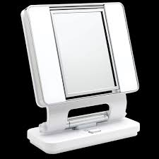 ottlite natural lighted makeup mirror white here to view larger image