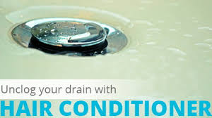 Unclog Bathtub Clear Clogged Drains With Hair Conditioner The Krazy Coupon Lady