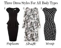 dress styles three dress styles that flatter all types a look by