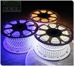 smd led strip light 50m spool 5050 smd led strip single color 110v 120v waterproof