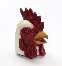 Real Looking Halloween Masks Amazon Com Rooster Latex Mask Toys U0026 Games