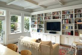 Family Room Cool Bookcases Ideas Bookcases Ideas Wall Units Awesome Cost Of Built In Bookcases Do
