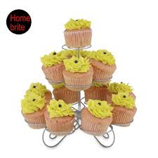 cup cake holder 3 tier cupcake holder 13 cups wire stand muffin tower wedding