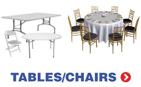 tables chairs rental island party tent rentals