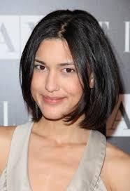 celebrity hairstyles celebrities with black medium length hair