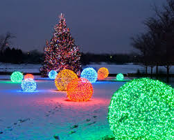 creating led light balls unique outdoor decorations