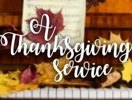 a thanksgiving service brittani