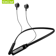 aliexpress qcy qcy bh1 bluetooth headphones with mic wireless lightweight neckband