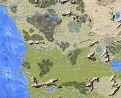 Forgotten Realms Map Candlekeep Forum Maps Of The Realms
