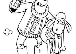 shaun sheep coloring pages coloring4free