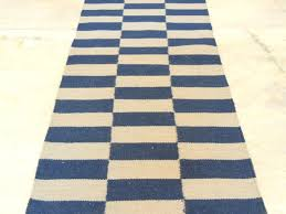 Blue Wool Rug Blue Wool Kilim Hand Knotted Woven Area Rug Runner Discovered