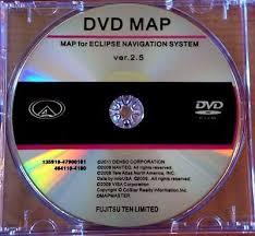 america map for eclipse navigation system mdv 11d eclipse navigation update dvd version 2 5 disc for eclipse