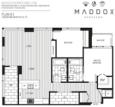 Vancouver Floor Plans Maddox Downtown By Cressey Developments Vancouver New