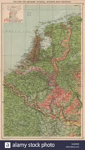 World Map 1940 by World War 2 Netherlands U0026 Belgium Defences Maginot U0026 Siegfried
