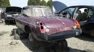 mg junkyard find 1976 mg mgb the truth about cars