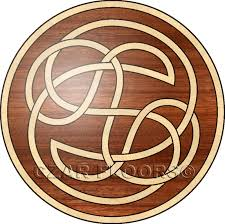 details description and price for celtic in wood medallions