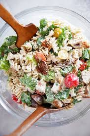 chicken pasta salad gluten free chicken caesar pasta salad lexi s clean kitchen
