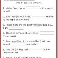 1st grade reading comprehension free printable worksheets
