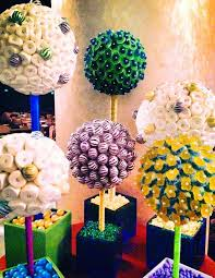 Candy Topiary Centerpieces - the worlds most creative candy centerpieces lollipop trees candy