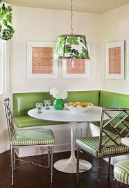 White Dining Table And Coloured Chairs Kitchen Ideas Kitchen Nook Seating Breakfast Nook Breakfast Nook