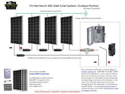 sneak peek thr renogy 400 watt solar system schematic tinhatranch