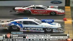 drag race ends with 0 0000 seconds between winner loser