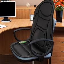 Back Pain Chair Cushion Gideon Seat Cushion Vibrating Massager For Back Shoulder And