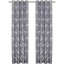 Black And White Damask Curtain Damask Curtains Joss U0026 Main