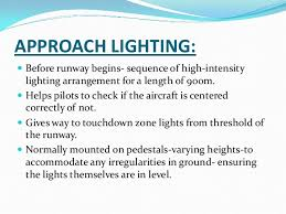 Approach Lighting System Airport Lighting