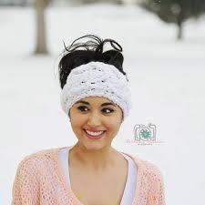 crochet ear warmer headband shop crochet headband earwarmer pattern on wanelo
