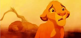 lion king simba crying gif clevver