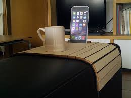 Sofa Arm Table by Atos Couch Arm Table With Device Stand For The Best Relax By