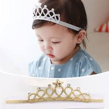 headband online 2016 children party birthday hair accessories hair band gold and