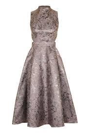topshop dress metallic jacquard prom midi dress topshop