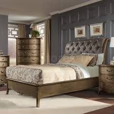 Modern Classic Furniture Sale 3819 00 Chambord Modern Classic 5 Pc Bedroom Set With Wall