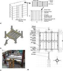 Floor Plan View In Plane Experimental Testing Of Timber Concrete Composite Floor