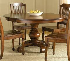 48 round pedestal dining table with leaves 48 round dining table