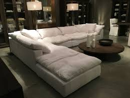 Comfy Sectional Sofa Restoration Hardware Sectional Cloud Future Home