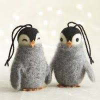 penguin tree decorations decore