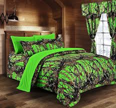 Neon Green Curtains by The Woods Popular Bio Hazard Neon Green Camouflage All In Twin