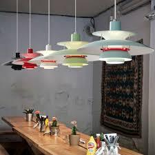 Pendelleuchten Esszimmer Design Led E27 Nordic Aluminium Eisen Ph5 Led Lampe Led Licht