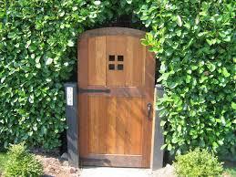 wooden garden gates home outdoor decoration