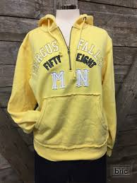 yellow ff hoodie fergus falls yellow the bric