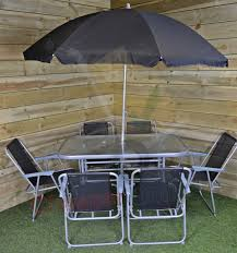 Patio Table 6 Chairs 6 Person Garden Furniture Patio Set Table 6 Chairs U0026 Parasol