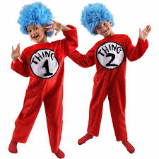 halloween city kendall thing 1 u0026 thing 2 halloween costumes