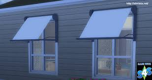 Sims 3 Awning Simista A Little Sims 4 Blog Modern Window Awning