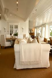 Slipcover Furniture Living Room Coastal Home Spotted From The Crow U0027s Nest Beach House