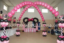 minnie mouse birthday decorations kid s birthday party minnie mouse themed party decoration