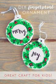 fingerprint wreath ornaments gav ro
